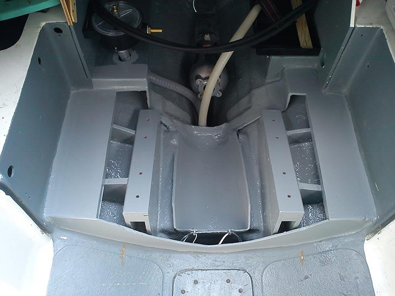 Engine bedding complete